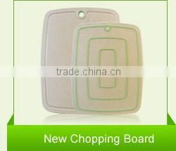 New Design Bamboo Fiber Cutting Mats Rice Husk Fibre Chopping Board Cutting Board Set