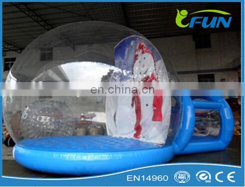 christmas inflatable bubble tent / inflatable clear bubble tent /inflatable bubble tent for advertising