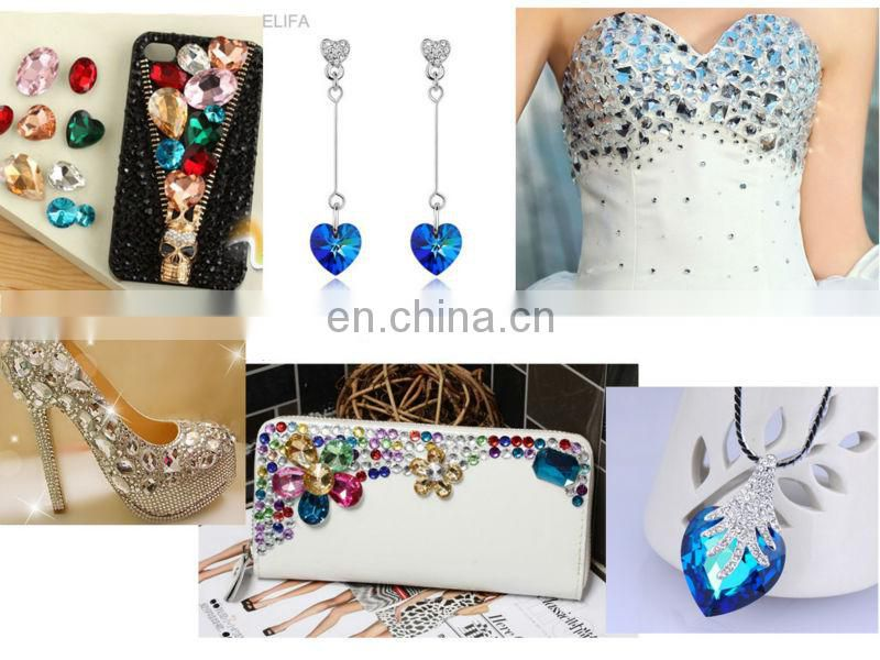 decorative clear crystal buttons for bag,dress