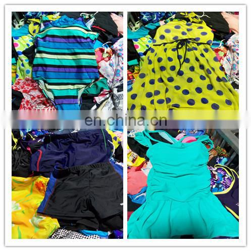 Customized high quality USED fashion swimsuits for women