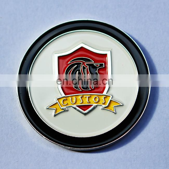 soft enamel with epoxy metal challenge coins custom engraved embossing coin