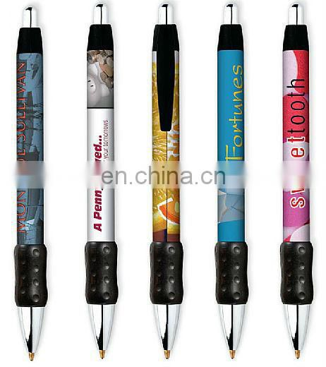 multi-colored advertising pens