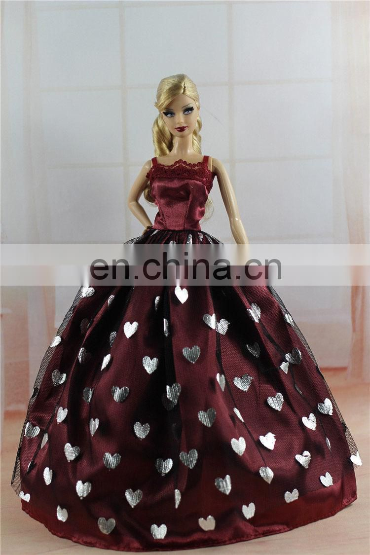 Fashion Princess Doll Dress Clothes