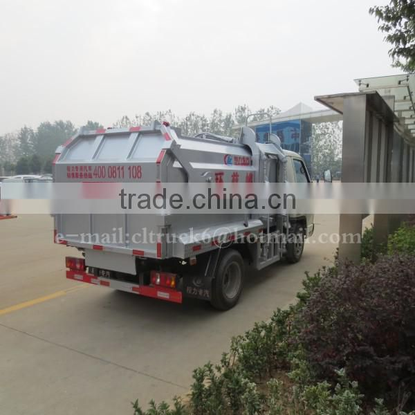 4*2 FORLAND Self-Loading Trash Truck 3 Ton