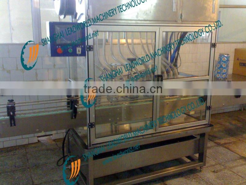 automatic single line lubricants filling machine