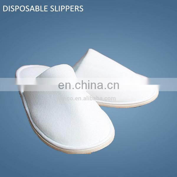 disposable indoor slipper/disposable eva sole slipper