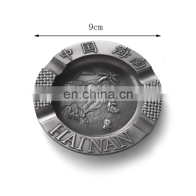 Zinc alloy antique meal ashtrays