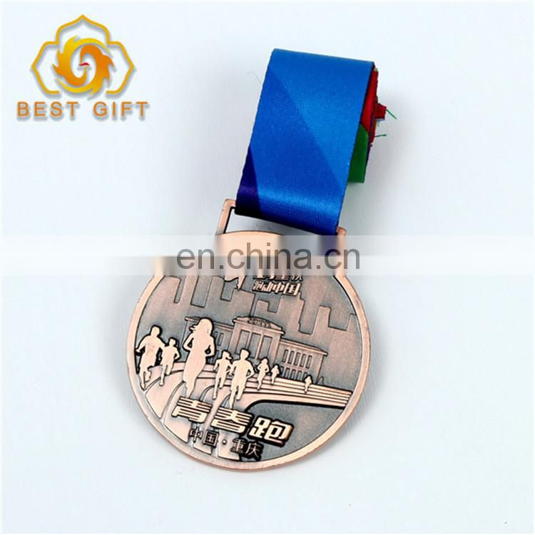 Guangdong Factory Custom Cheap Sports Souvenir Medal With Lanyard