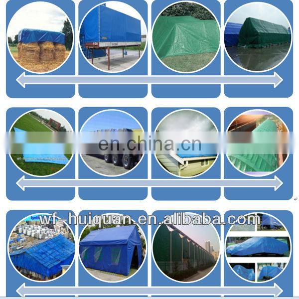 high tensile strength 300gsm blue container cover pe tarpaulin