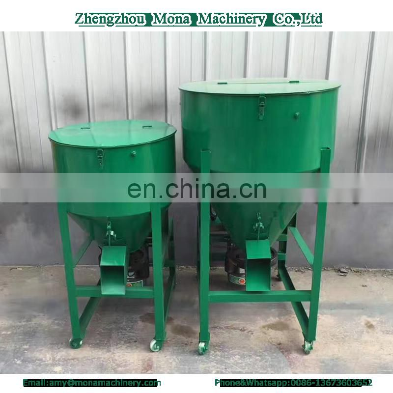 fish feed mixer machine/small poultry feed mixer and grinder/farm seed mixer