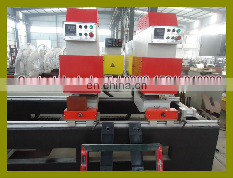 Two heads seamless welding machine for white and clolor PVC window door production / Vinyl window seamless welder
