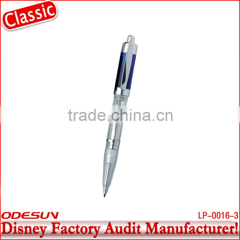 Disney factory audit manufacturer's led light ballpoint pen 143032