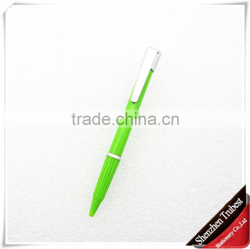 6 color promational pen , advertise pen , logo ballpoint pen