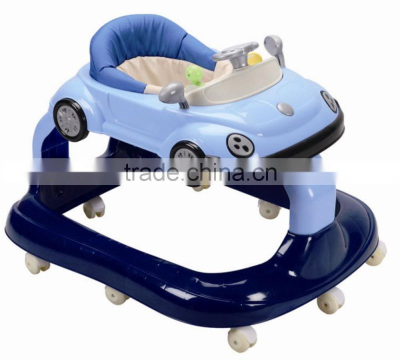 China baby walker 2015 wholesale airplane baby walker with toys