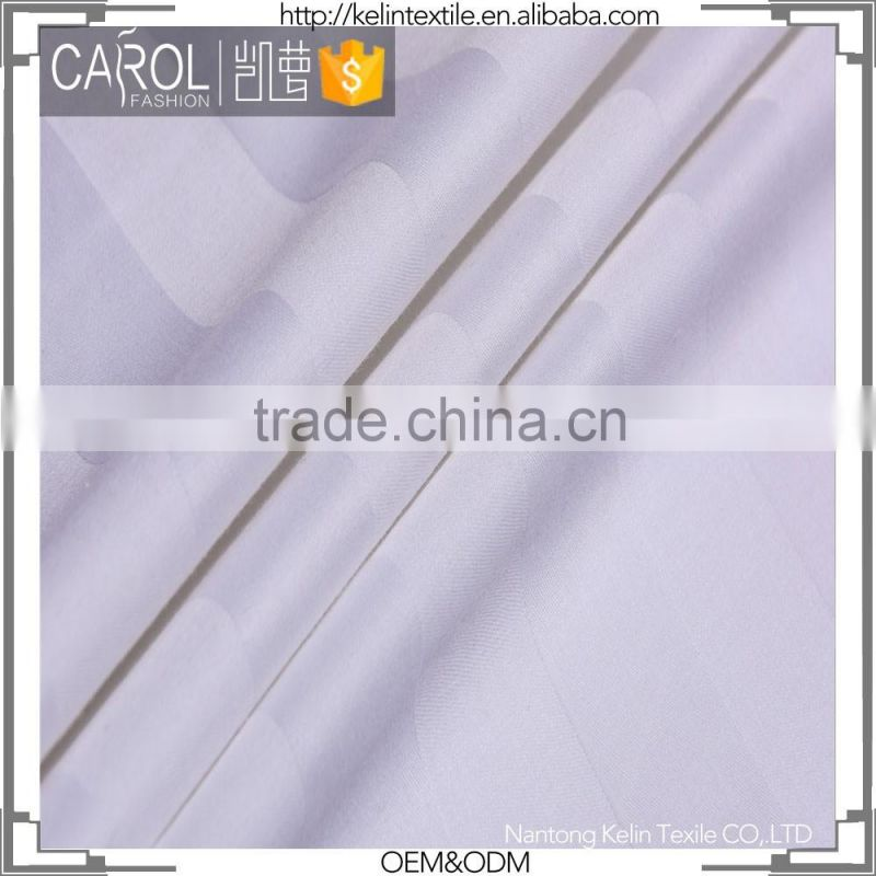 China supplier dobby stripe fabric satin 0.5cm 1cm 3cm fabrics