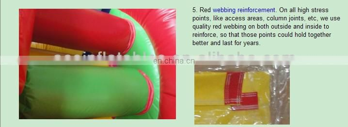 clown inflatable bounce slide combo