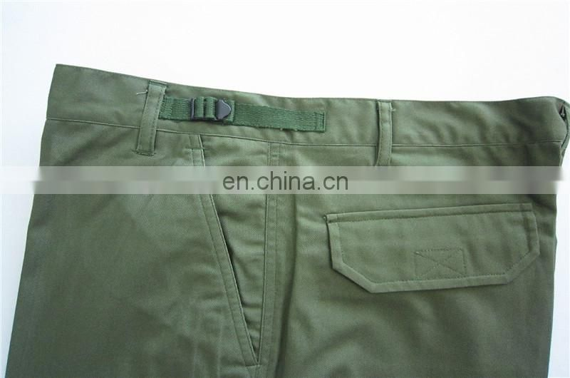 olive green army short pants