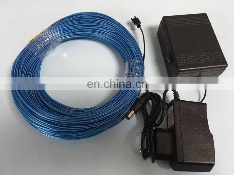 high brightness 3m el wire with battery inverter set wholesale