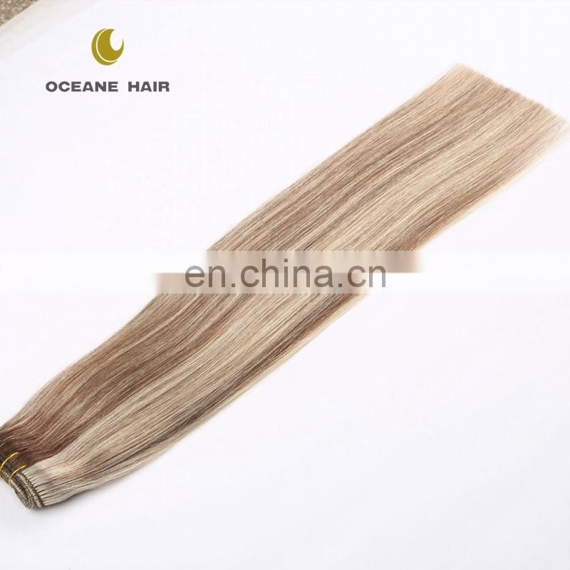 China wholesale genuine new style cheap two tone color remy human hair