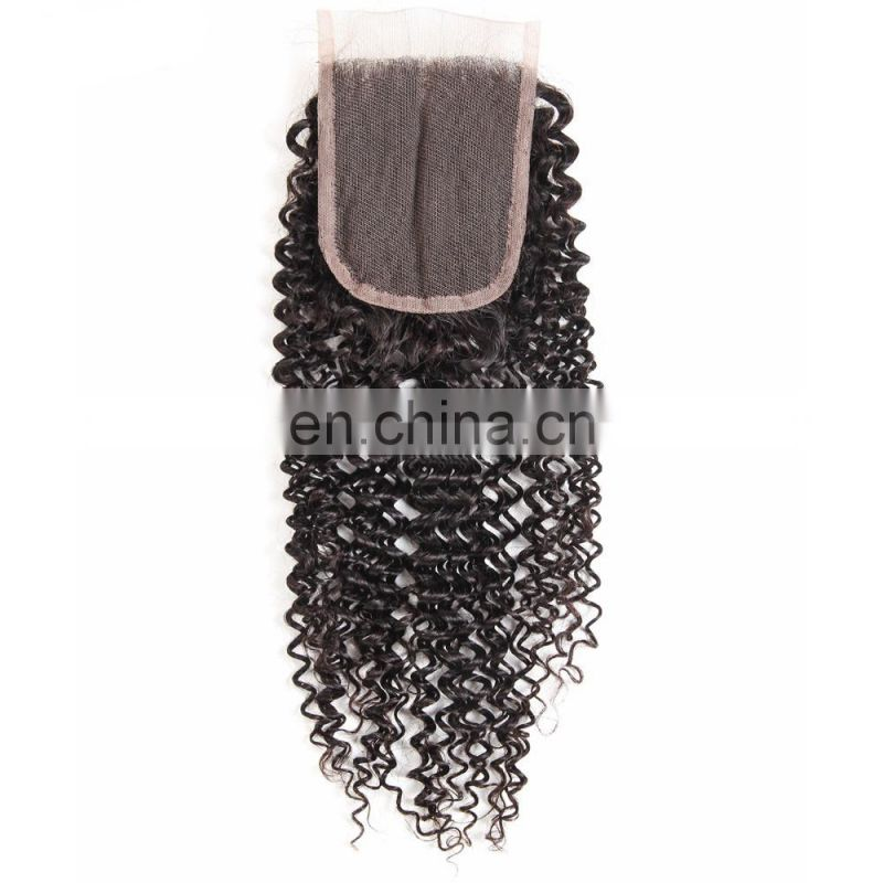 Qingdao hair factory Hot selling top brazilian hair wholesale lace closure