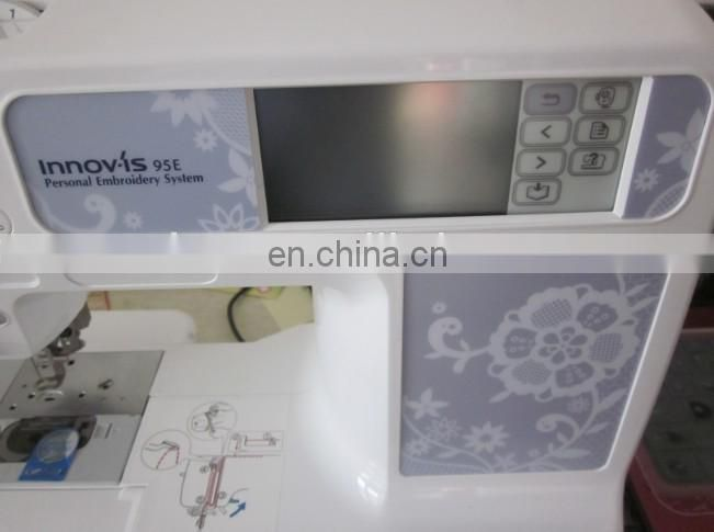 Household computerised home use sewing machine industrial embroidery machine for sale