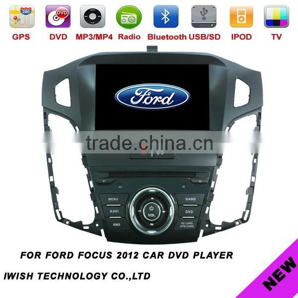 2 dins 8 inch iwish brand android universal car dvd player for Ford Focus 2012 car wifi