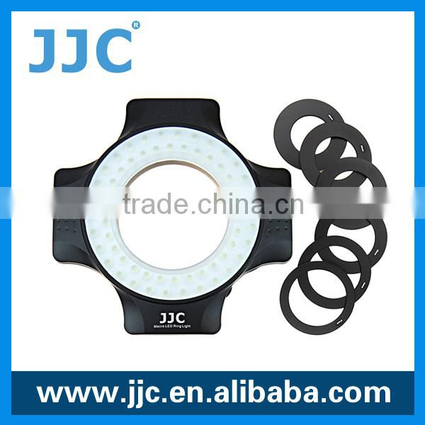 JJC Produces bright HD-friendly soft light ring flash light
