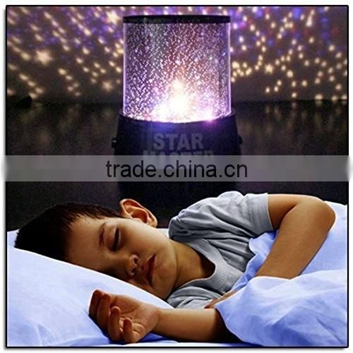 Magic Star Sky Universal Night Light Baby Kid Chidren Sleep Dreamlike Projector Christmas Gift For Home Decor