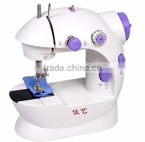 Good design mini desktop handheld electric sewing machine , manual mini sewing machine