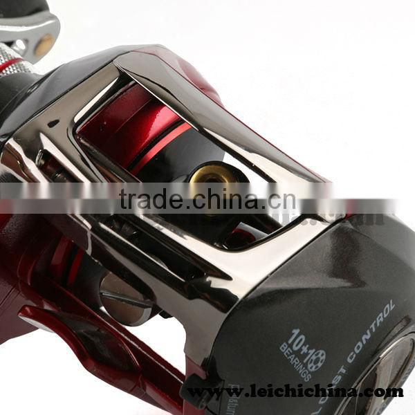graphite body conventional fishing bait casting reels