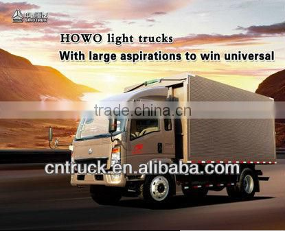 5 ton van cargo truck for sale in China