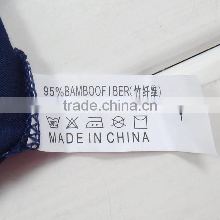 Hot sale wholesale printing bamboo fiber sexy boxer men briefs underwear