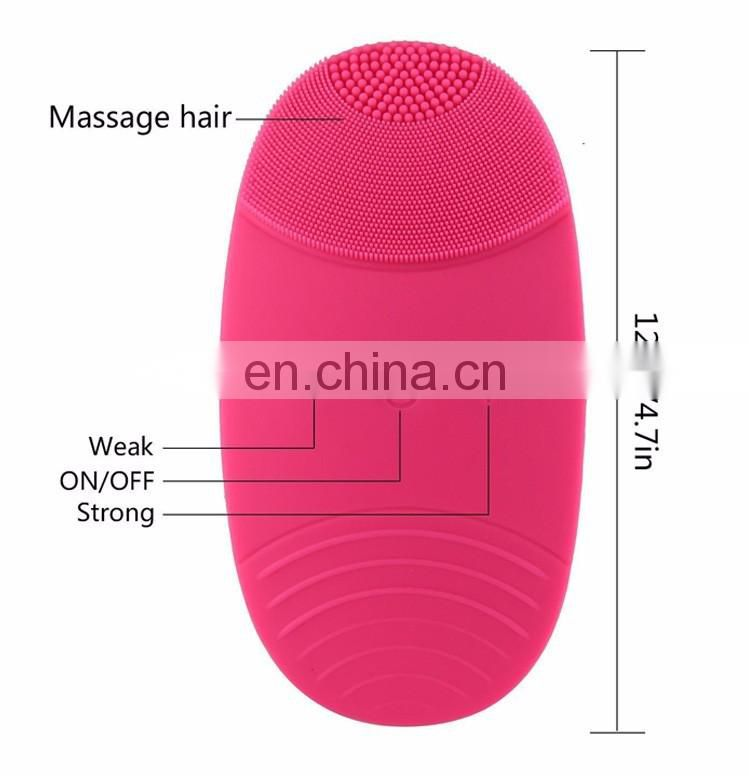 Cleaning Face Brush Ultrasonic Face Cleansing Facial Brush Exfoliator Makeup Treatment