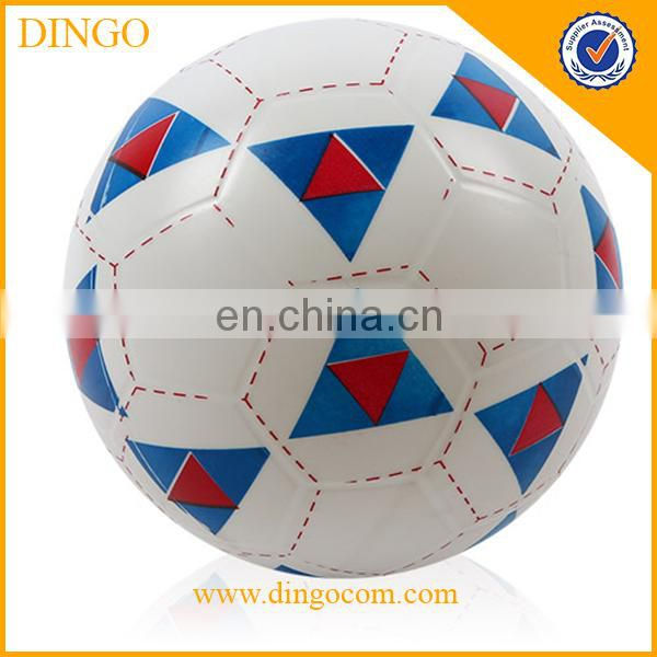 Wholesale size 5 football promotional pvc custom soccer ball,soccer
