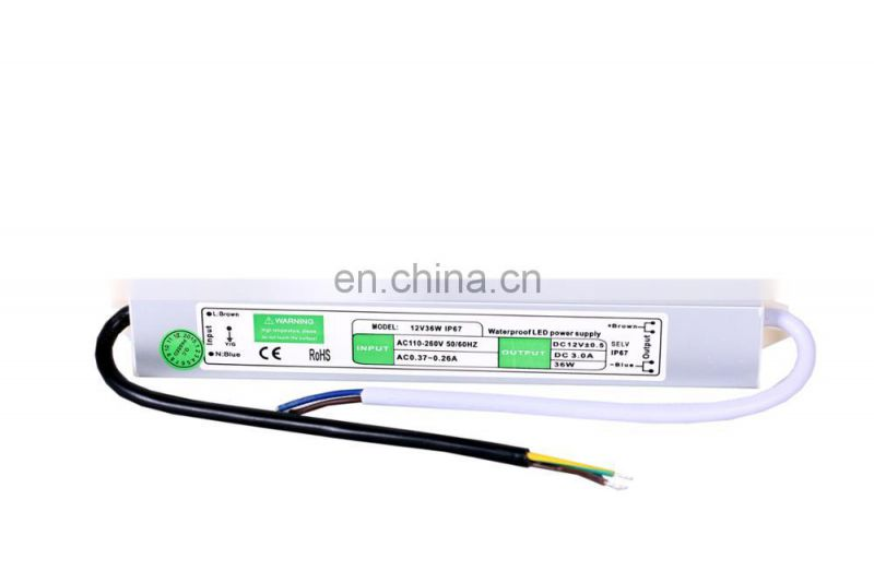 High Power Supply 12V 36W Waterproof Switching Power Supply Constant Current
