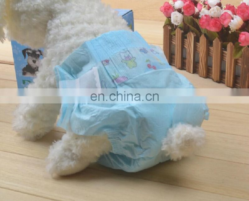 factory price disposable Puppy dog pet nappy