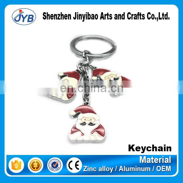 High-grade boutique Zinc alloy five - pointed star Couple lock key chain