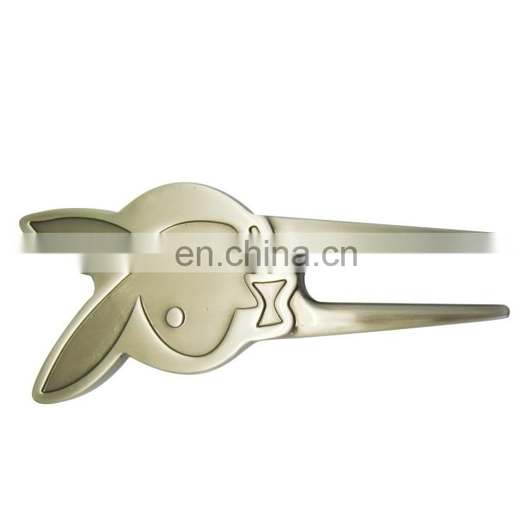 Sale new product golf metal divot tool, anti-brass plating metal gold divot tool,
