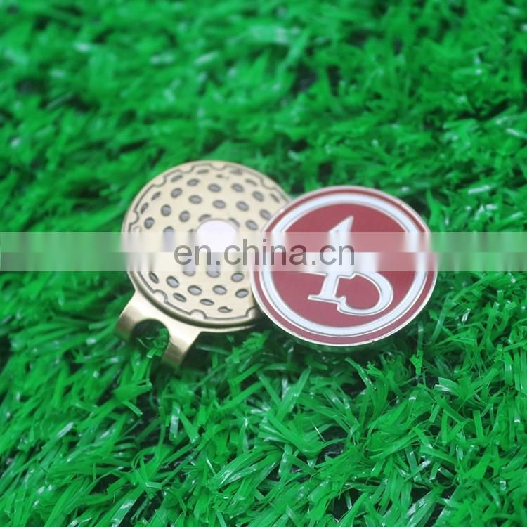 2016 personalized golf ball marker hat clip set without mold fee