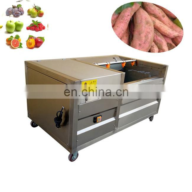 High efficiency  potato and fruitbrushcleaningand peelingmachinemanufacturer
