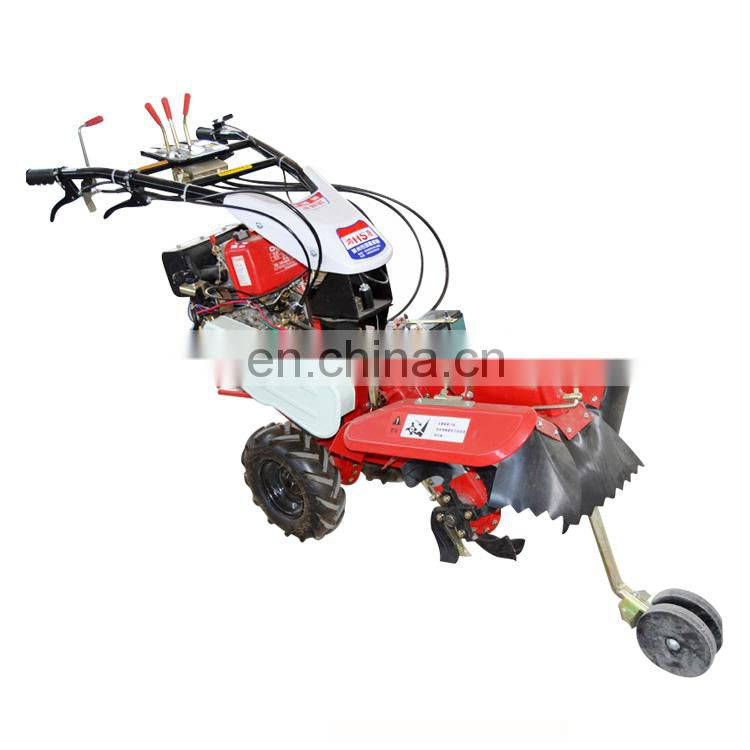 HT135E 10HP electric diesel cultivator with factory price Image