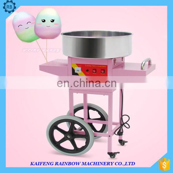 Hot Commercial Sugar manufacturing cotton candy floss machine for sale