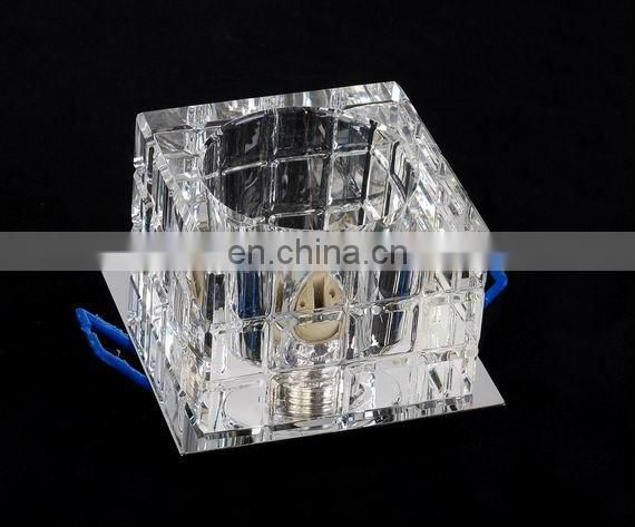 Crystal ceiling lights and spot lights