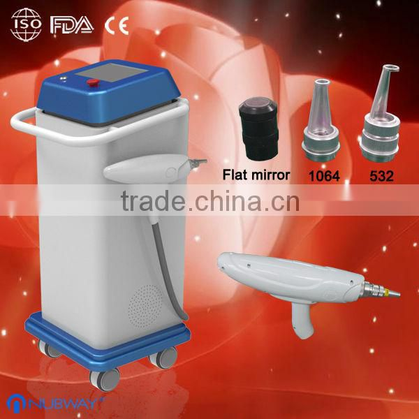 high quality nd yag laser low price machine,vascular removal nd yag laser,high power q-switched nd yag laser