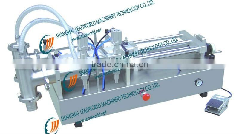 pneumatic manual santizer filling machine