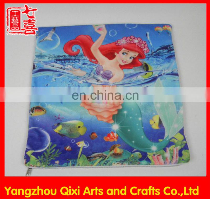 Latest design square cushion cover wholesale digital custom printing custom covers with zipper