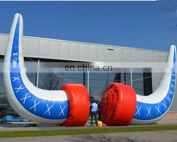 customized inflatable ox/bull horn for event party decoration Vikings inflatable horn
