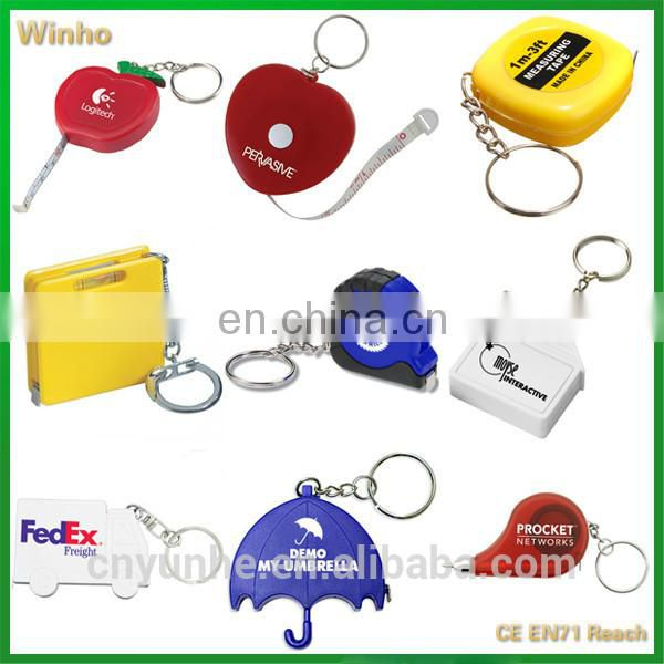 Key Holder With One Metre Tape