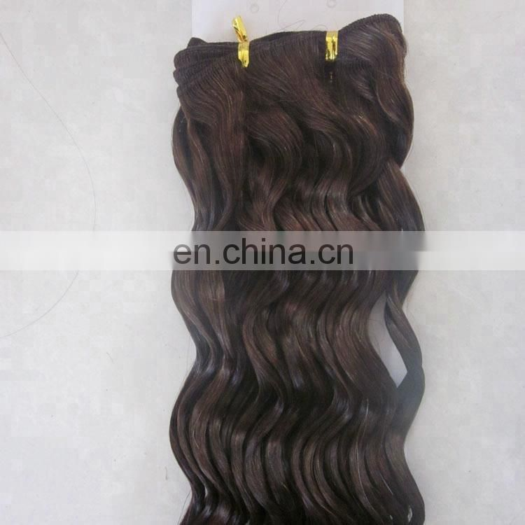 wholesale natural wave sew in human hair extensions