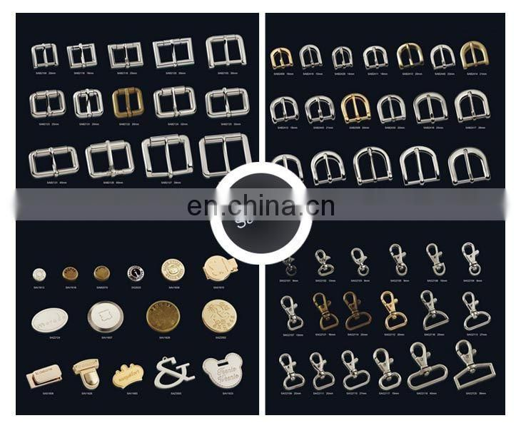China Gold Supplier For Supply Custom Gold Color Press Bag Lock Accessories